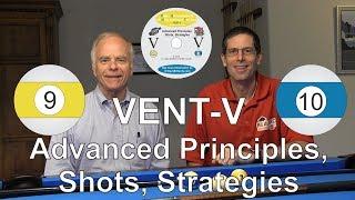 VENT V - Advanced Shots, Strategies - Video Encyclopedia of Nine-ball and Ten-ball - DVD