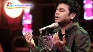 "AR Rahman Sings for ""Mohenjo-Daro"""
