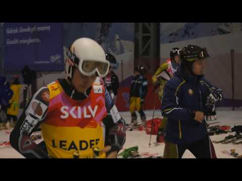 Baltic Cup 2018 parallel slalom in Snow Arena