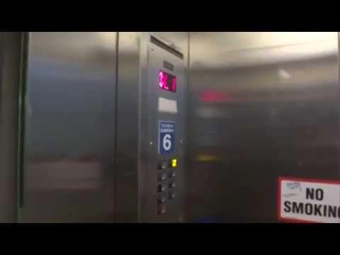 Deplorable KONE (Vector) Hydraulic Elevator @ The Fashion Centre Mall Parking Deck Arlington, VA