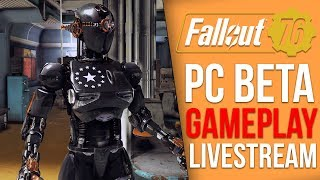 Discovering the Enclave - Fallout 76 PC BETA Playthrough - Part 4 (Fallout 76 Livestream)