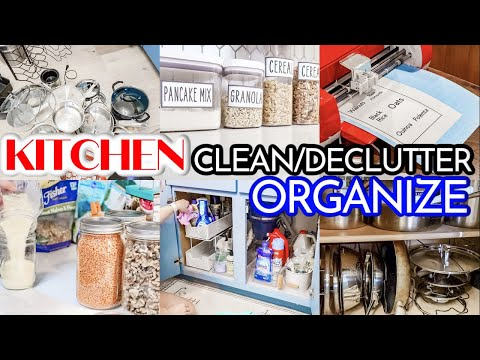 OUR FIXER UPPER | MAJOR KITCHEN CLEAN | DECLUTTER | ORGANIZE | PANTRY ORGANIZATION | CLEAN WITH ME - Denise Bangiyev