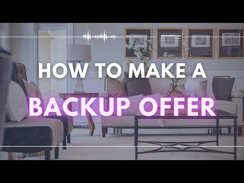 Real Estate Contract: How to Make a Backup Offer on a Property
