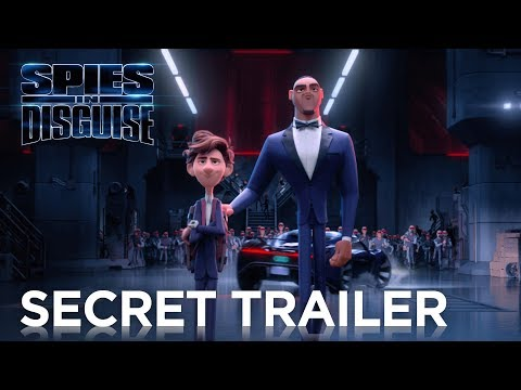 """NEW TRAILER FOR """"SPIES IN DISGUISE"""" AND NEW SINGLE - Christmas Day!"""