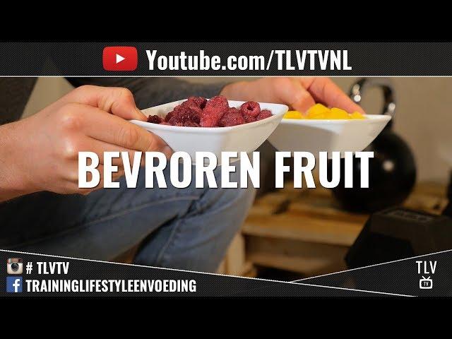 Bevroren Fruit voedzaam