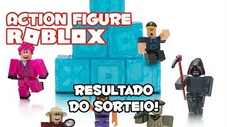 And the winner of the Roblox Action Figure is....