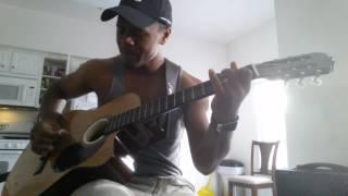 Carlos Santana Maria Maria guitar cover