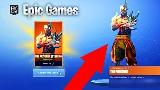 STAGE 5 Prisionero SKIN Ubicación clave en Fortnite Temporada 8! (Fortnite The Prisoner Skin Stage 5)