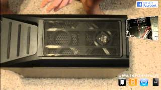 Unboxing Rosewill Destroyer Black Gaming ATX / Micro ATX Mid Tower Computer Case HD