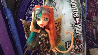 Monster High Garden Ghouls Toralei Stripe doll review!