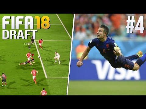 DUIKKOPBAL ALS ROBIN VAN PERSIE - FIFA 18 FUT Draft #4