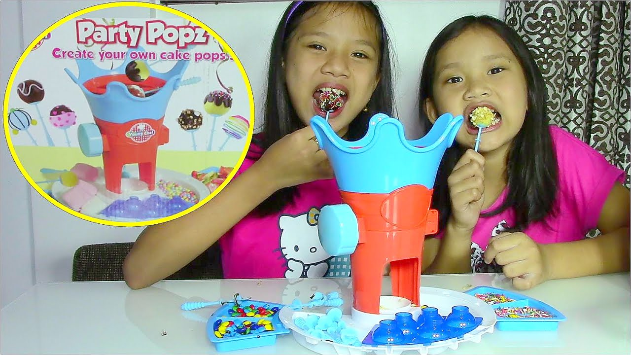 Toys For Your Birthday : Young chef party popz make your own cake pops kids toys
