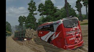 Agra Mas SCANIA Off Road || ets2 bus mod indonesia