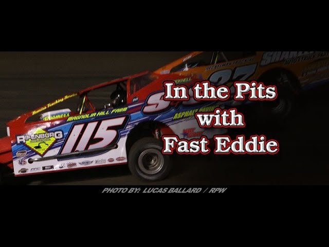 In the Pits with Fast Eddie - Mr DIRT Track USA Winner Kenny Tremont Jr
