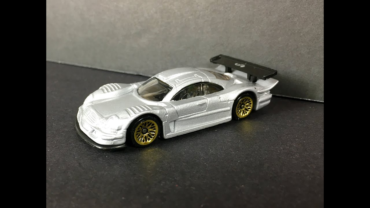 #926 MERCEDES CLK-LM SILVER HOT WHEELS 1999 FIRST EDITIONS