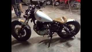 bobber suzuki intruder 250 kit 300cc