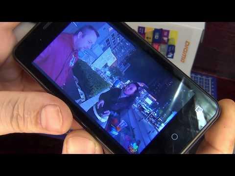 Обзор Смартфона DIGMA Linx Alfa 3G  черного цвета