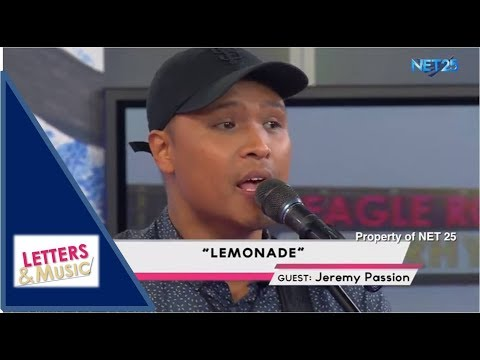 JEREMY PASSION - LEMONADE (NET25 LETTERS AND MUSIC)