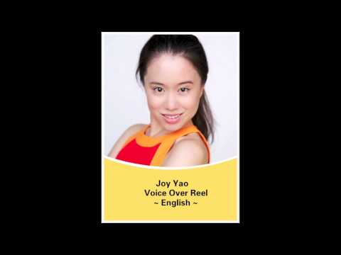 Joy Yao Voice Over Reel English