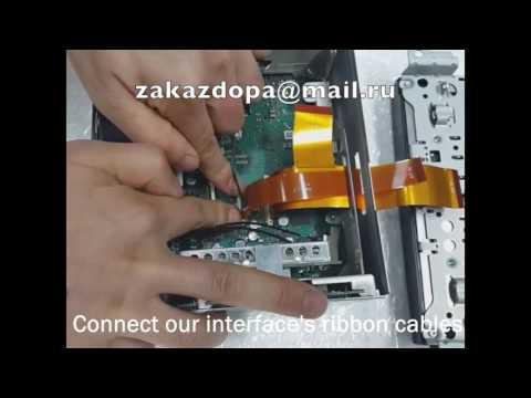 Установка видеоинтерфейса в Porsche PCM3.1