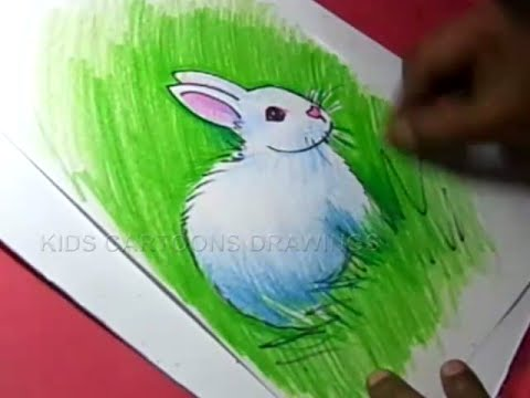 How To Draw Rabbit Drawing Step By For Kids