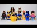 Lego Marvel X-men 90s TAS Moc:  Xmen the animated series Custom showcase