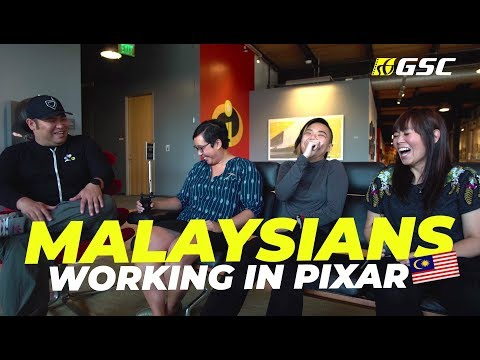 CHATS WITH MALAYSIANS WORKING IN PIXAR STUDIOS