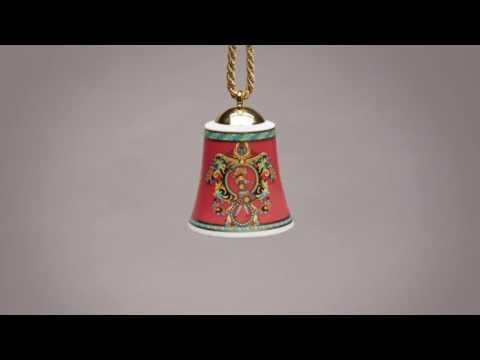 Versace Collectible Christmas Bells | #VersaceHolidays