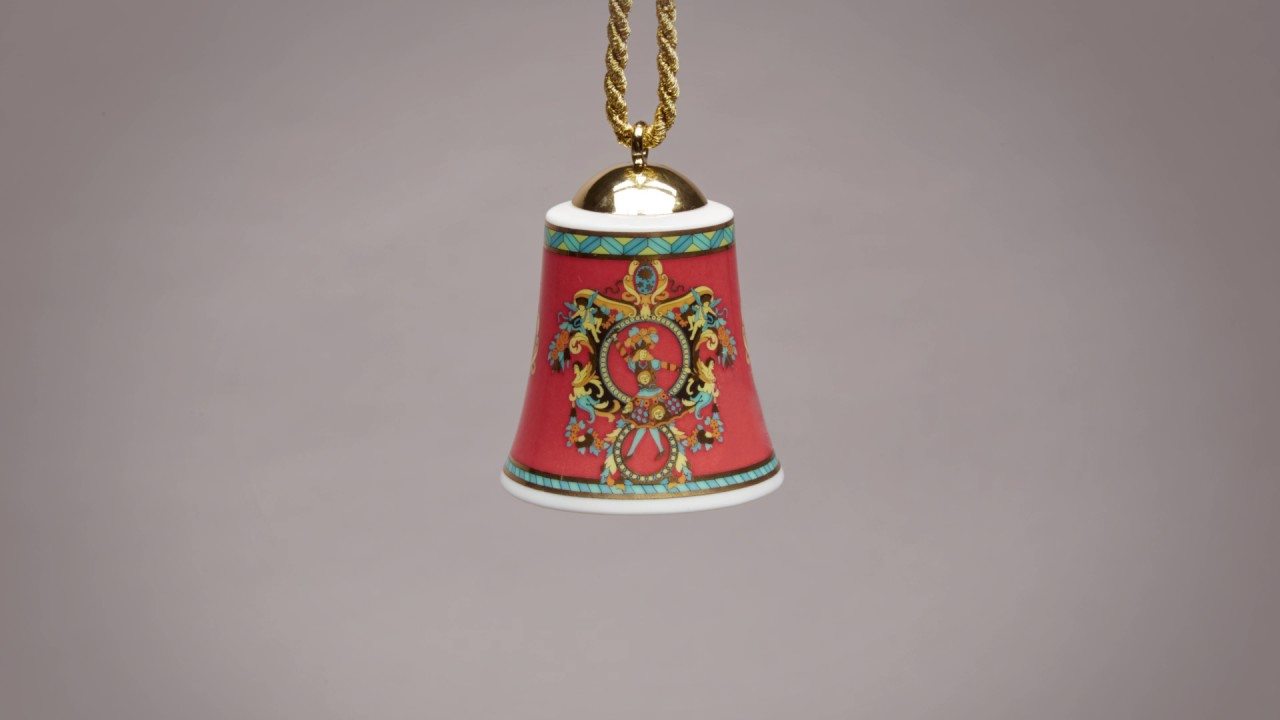 Versace Collectible Christmas Bells | #VersaceHolidays