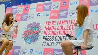 Kyary Pamyu Pamyu KPP Nanda Collection World Tour 2014 in Singapore - Press Conference 03