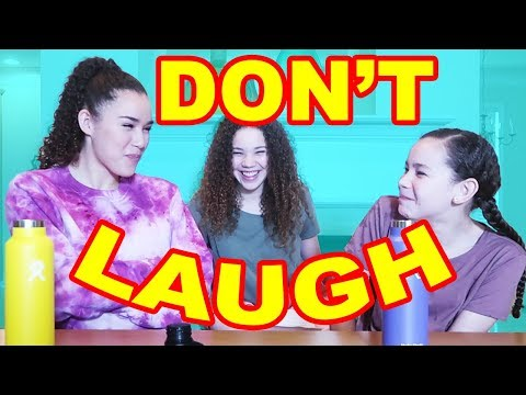 Try Not To Laugh With Water! (Gracie vs Olivia Haschak)