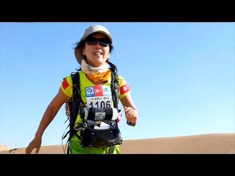 The life of marathon runner Catherine Sun