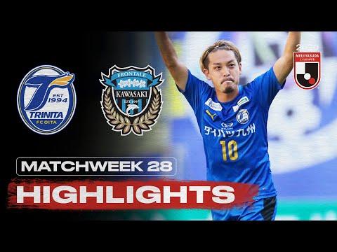 Oita Kawasaki Frontale Goals And Highlights