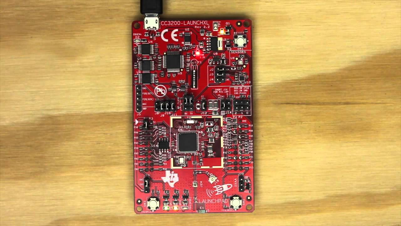 SimpleLink Wi Fi CC220 Project 20 Energia IDE