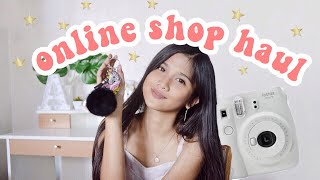 Online Shop Haul + INSTAX GIVEAWAY (Philippines)