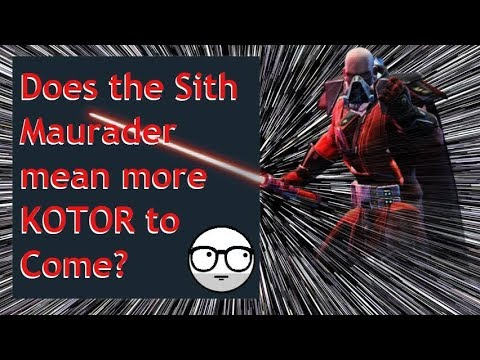 What does the Sith Marauder mean for Swgoh??? Wild Speculation