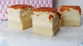 How To Make Vanilla Magic Custard Cake - By One Kitchen Episode 40