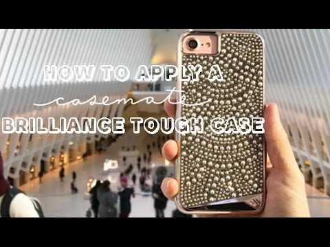 watch b5abd 14658 Case-Mate | How To Apply a Brilliance Tough Case for iPhone 7 Plus