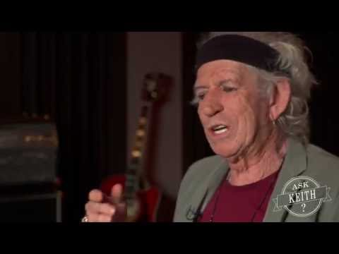Ask Keith Richards: When you play guitar for yourself, what do you play most often?