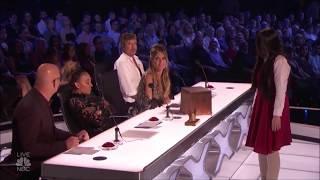 The Sacred Riana - Live Show - Creepy Magic Girls America's Got Talent 2018 Full Version
