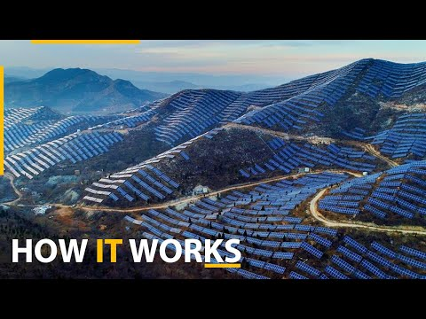 How the world's largest solar power plant works