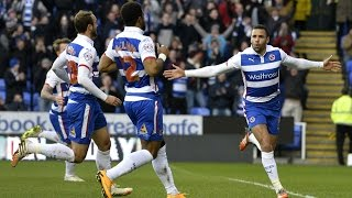 Robson-Kanu scores | Reading 2-1 Norwich | 28.12.14