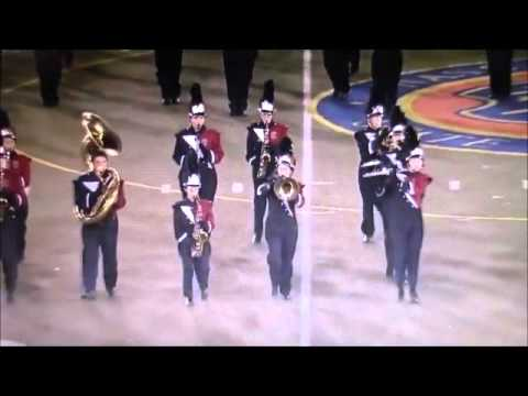 Connetquot Marching Band at Newsday Marching Band Festival - October 2015