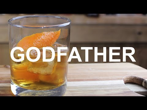Godfather Cocktail Recipe - Cousin Of The Rusty Nail ;)