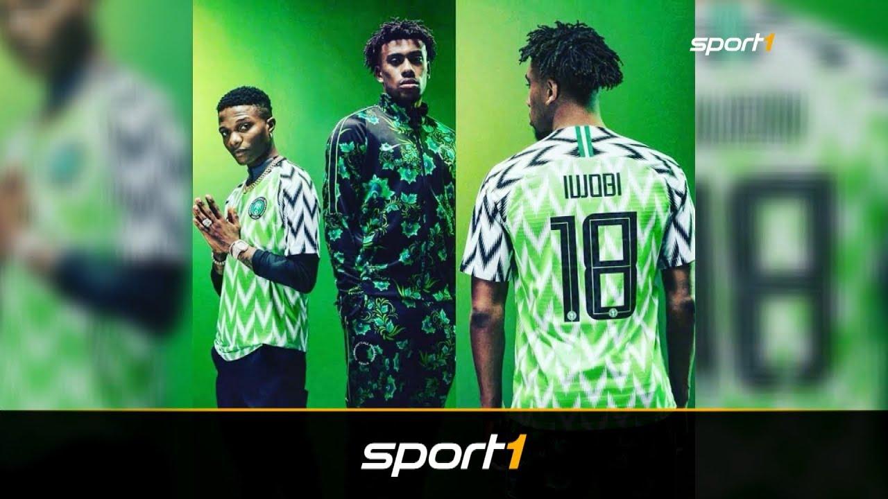 details for buy popular 50% price Nach 2 Minuten ausverkauft! Irrer Hype um Nigerias WM-Trikot | SPORT1