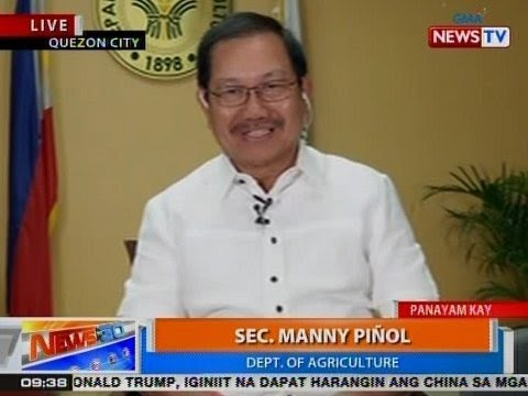 NTG: Panayam kay Dept. of Agriculture Sec. Manny Piñol