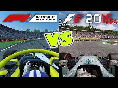 F1 Mobile Racing Vs F1 2016 Mobile COMPARISON