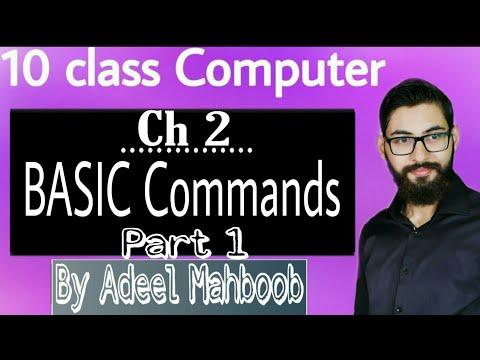 GW BASIC commands