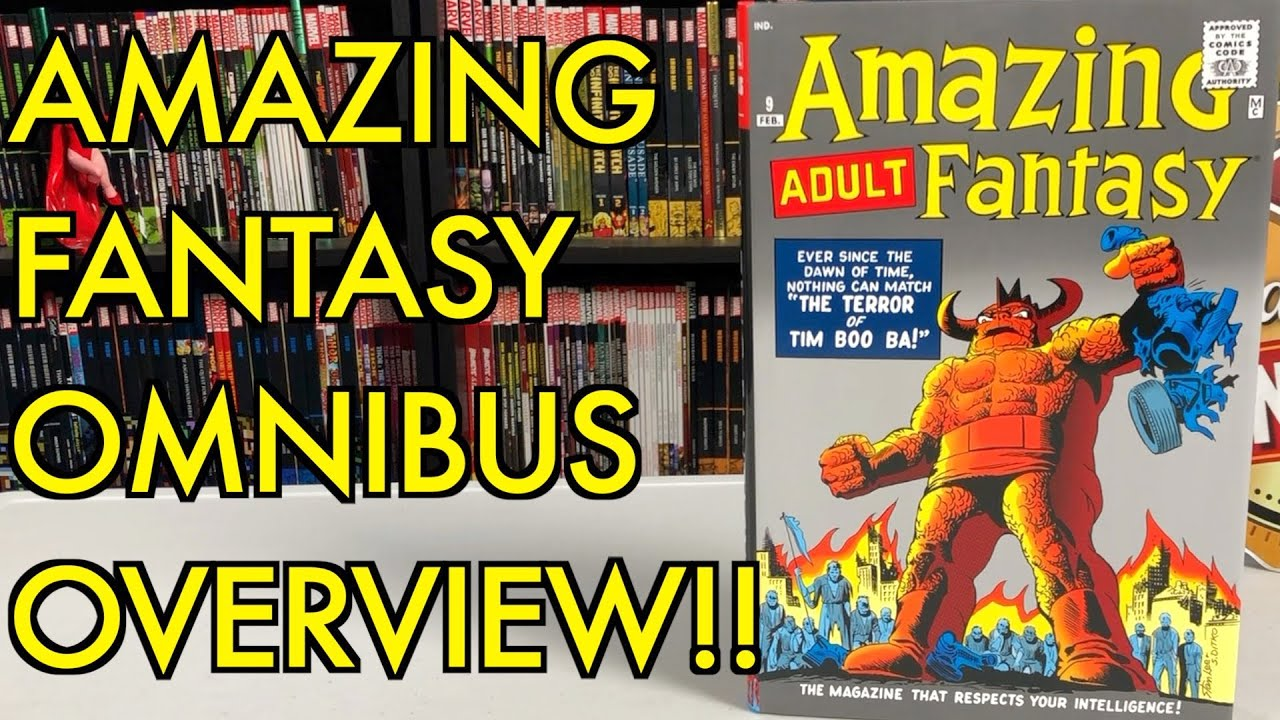 Amazing Fantasy Omnibus Overview!