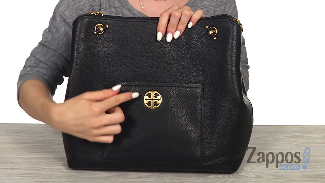 f76218b91404 Tory Burch Chelsea Slouchy Tote SKU  9055507 - YouTube